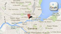 Googlemaps, plan de situation